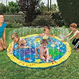 JOMA E-Shop Inflatable Water Spray Sprinkle and Splash Play Mat Outdoor Fun Toy For Children Kid Family Activities Hot Summer Swimming Party Beach Water Sprinkler Pad