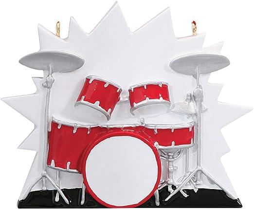 Christmas Music Concerts 2020 Amazon.com: Personalized Drum Set Christmas Tree Ornament 2020