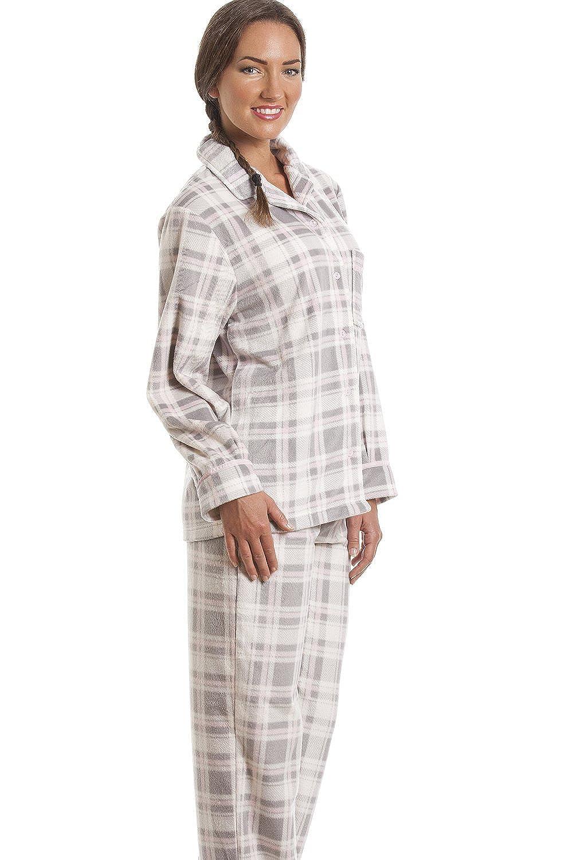 Gris para mujer Pijama a cuadros con estampado de lana: Amazon.es: Ropa y accesorios
