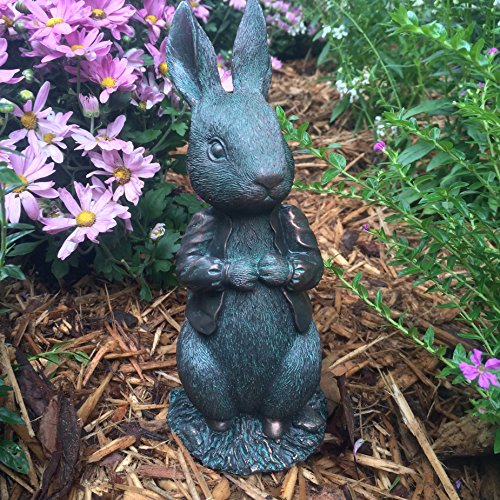 Peter Garden Rabbit (Peter Rabbit Garden Statue - The Beatrix Potter Collection)