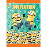 photograph about Free Printable Minion Invitations named â–· Personalized Minion Birthday Invites ** Free of charge** printable
