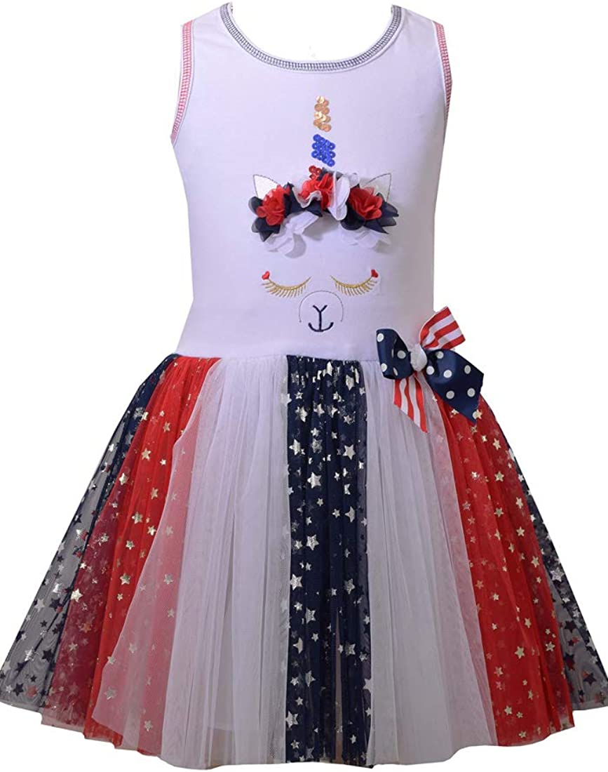 PUTIEN 4th of July Decor All Over Print T-Shirt,95/% Polyester,Childrens Short Sleeve T