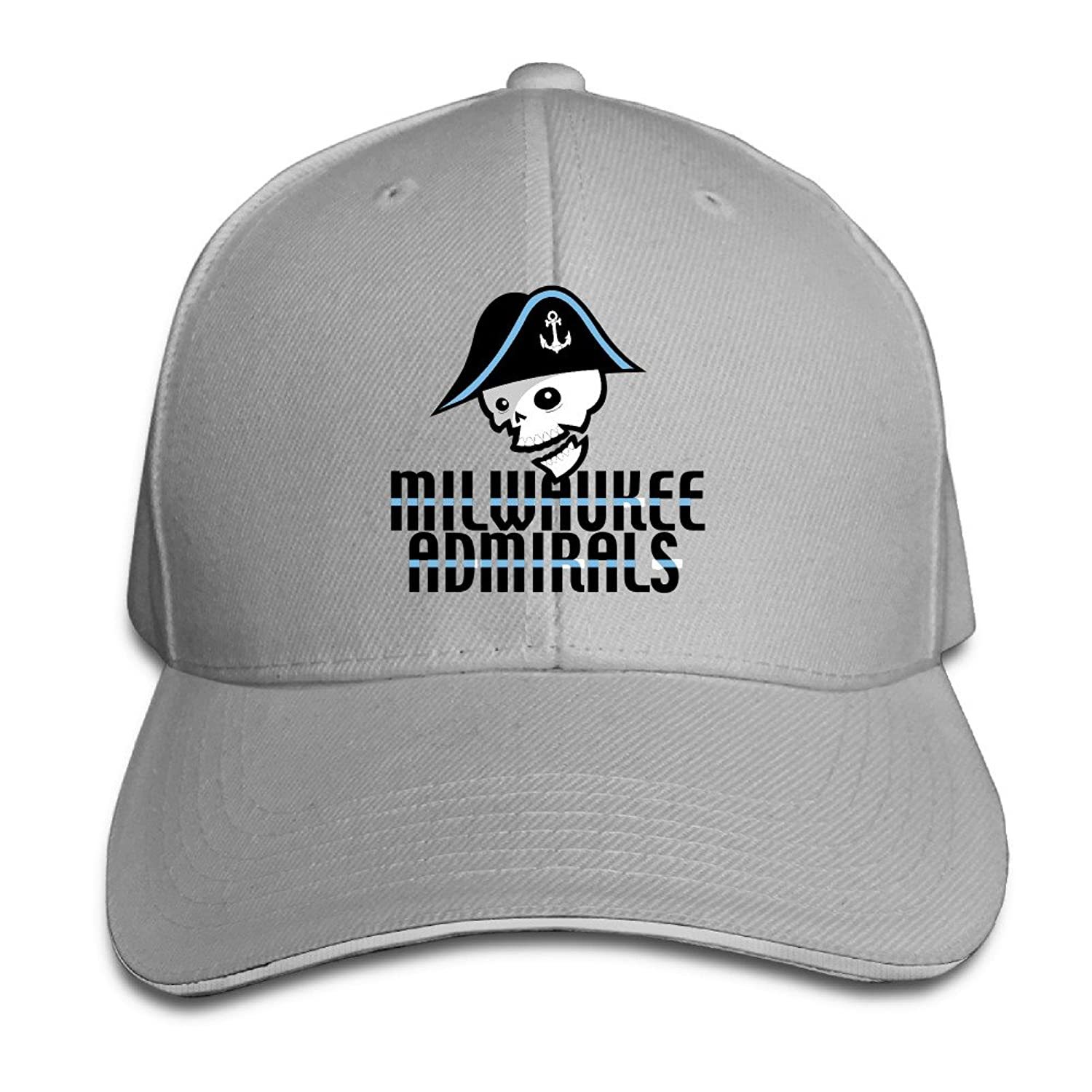 Iruds Admirals Hockey Team Logo Outdoor Sandwich Peaked Cap&Hat For Unisex