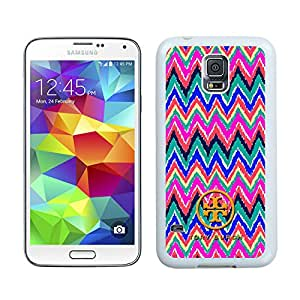 Unique And Luxurious Designed For Samsung Galaxy S5 I9600 G900a G900v G900p G900t G900w Cover Case With Tory Burch 23 White Phone Case