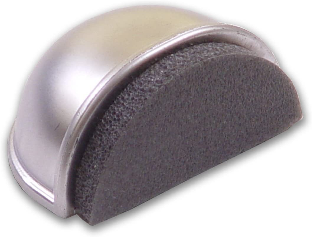 BRINOX Tope silencioso Adhesivo, Cromado, 2.5x4.8x3.7 cm