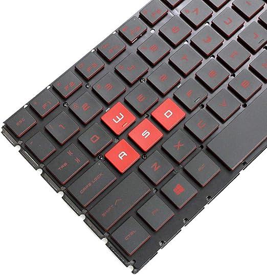 New for HP OMEN 15-CE025TX 15-CE026TX 15-CE001TX 15-CE002TX  us keyboard backlit