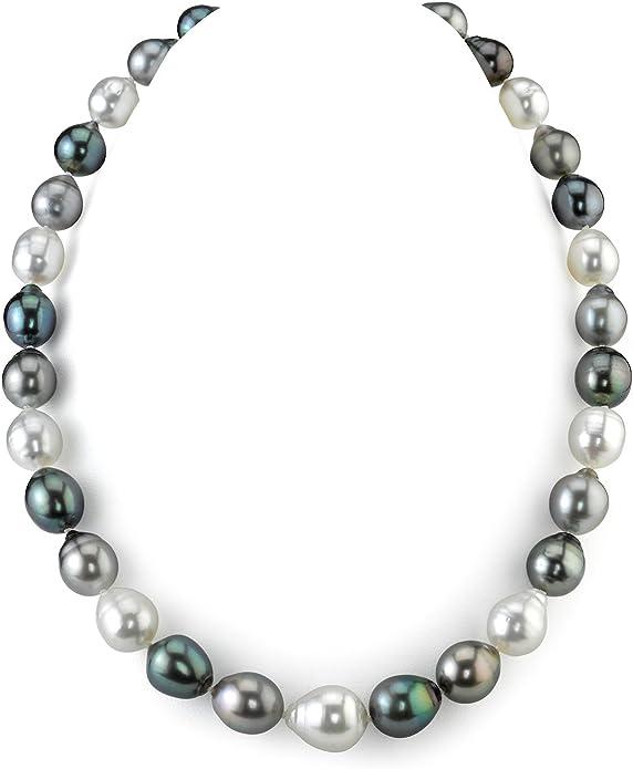 baroque 12X13mm natural 14k gold  pearl  south sea pendant