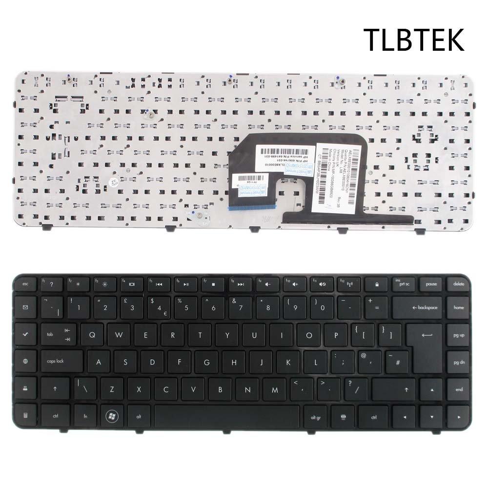 TLBTEK Teclado de repuesto para portátil HP Pavilion DV6-3000 DV6 ...