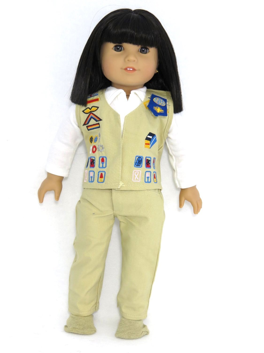 18 Inch Doll Clothes - Cadet girl scout uniform   Fits 18 American Girl Dolls   by American Fashion World