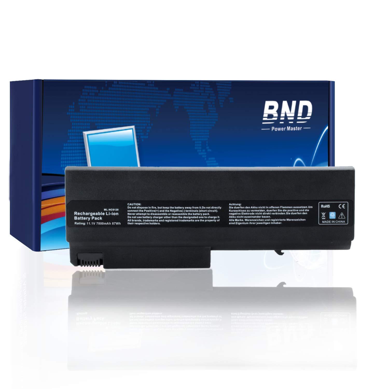 Bateria 7800mAh para HP Compaq 6910p 6510b 6710b NC6400 NC6220 6715s NC6120 NX6110-24 9 Celdas Li-ion