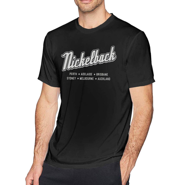 Wxzdh S Vintage Nickelback Tshirt Black
