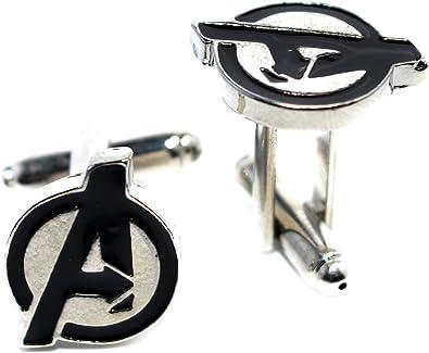 Caja de terciopelo The Avengers Esmalte Novedad Gemelos Marvel ...
