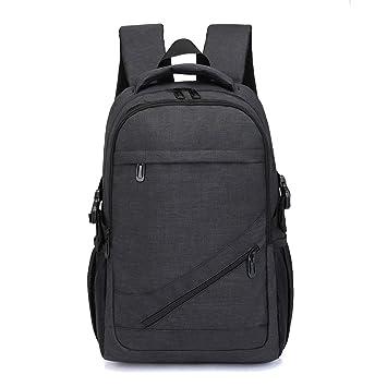Zywtrade Business Laptop Mochila universitarias Fit 15,6 Pulgadas Mochilas de Ordenador para Mujeres Hombres, Senderismo Casual Viajes Mochila,Black: ...