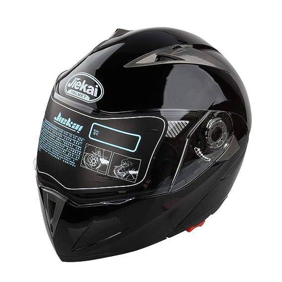 Amazon.es: Casco de Moto, casco integral de moto, con parasol ...