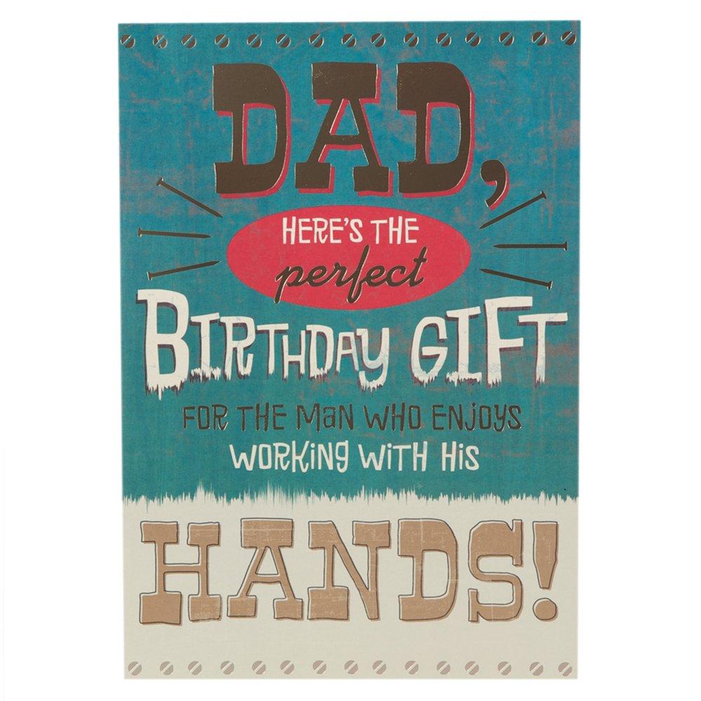 Birth Certificate Hallmark Birthday Card for Dad Medium