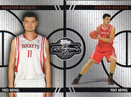 2008-09 Topps Co-Signers Changing Faces #CF27 Yao Ming /899 - (Yao Ming Face)