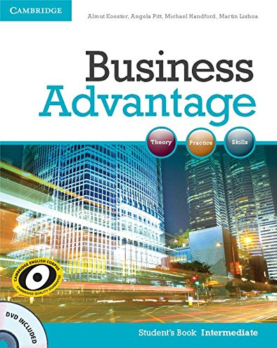 Business Advantage Intermediate Student's Book with DVD (Business Advantage Students compare prices)