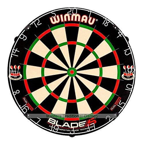 Winmau Blade 5 Dual Core Dartboard with Rota-Lock