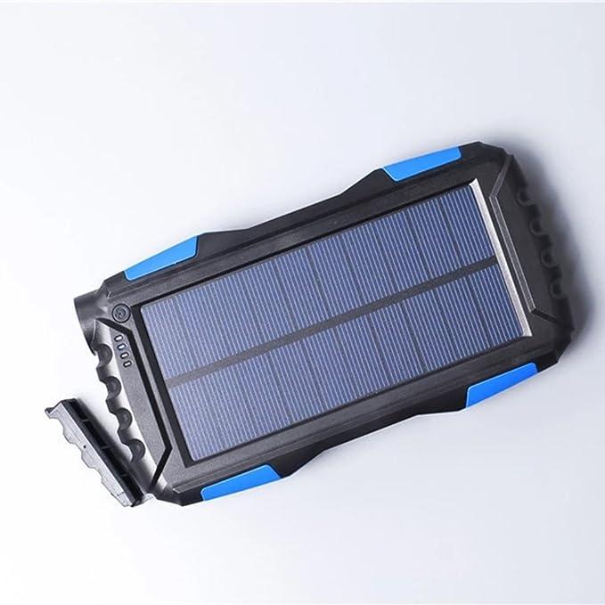 henrytech 25000 mAh cargador solar Solar banco de energía ...