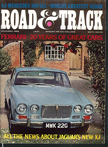 ROAD & TRACK Mercedes-Benz 300SEL road test 11 1968