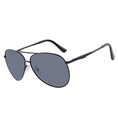 ceeb3cf155 DUCO Premium Pilot Polarized Sunglasses with Metal Frame for Men 100% UV  protection 3025G (