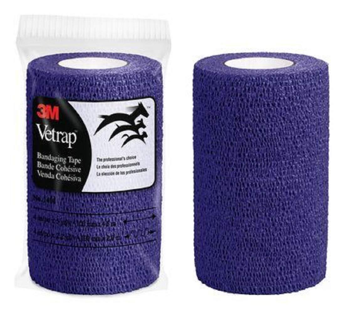 Purple 4 X 5' Purple 4 X 5' 3M Adhesives Vetrap (18 count case)