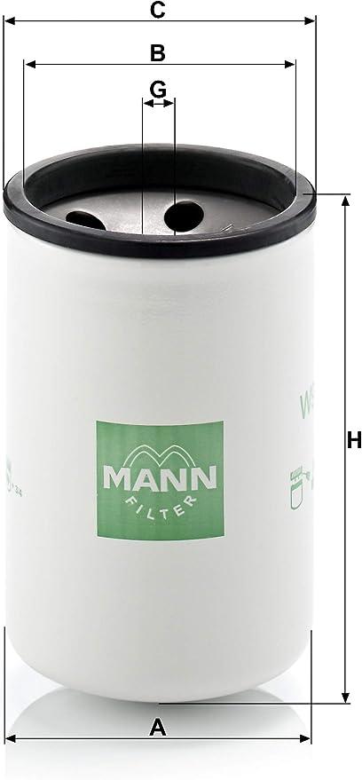 Original Mann Filter W 925 Schmierölwechselfilter Für Industrie Land Und Baumaschinen Auto