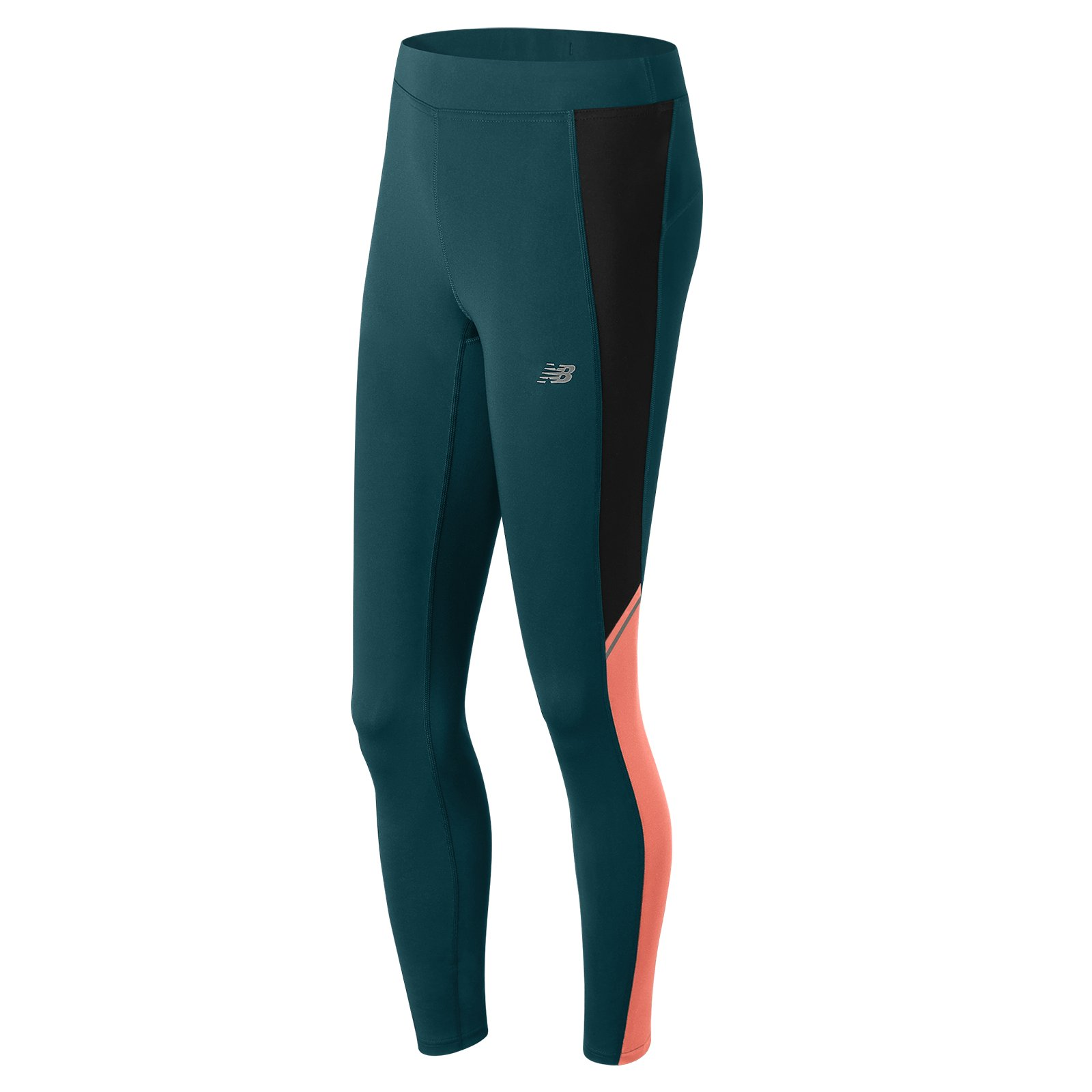 New Balance Women's Accelerate Tights, Bleached Sunrise, X-Large