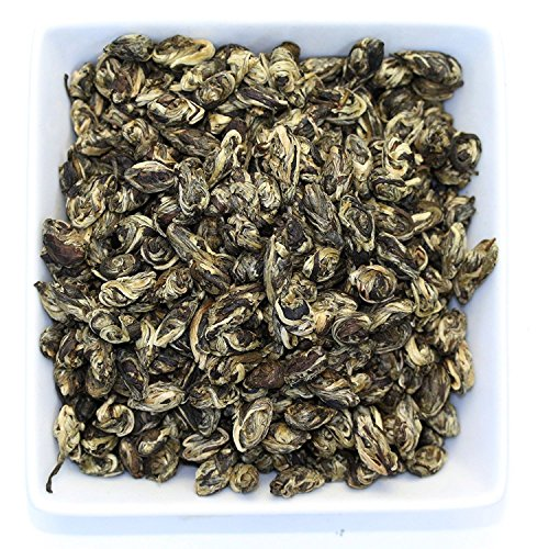 Tealyra - Jasmine Phoenix Pearls - Best Chinese Jasmine Green Tea - Loose Leaf - Organically Grown - Great Jasmine Aroma and Taste