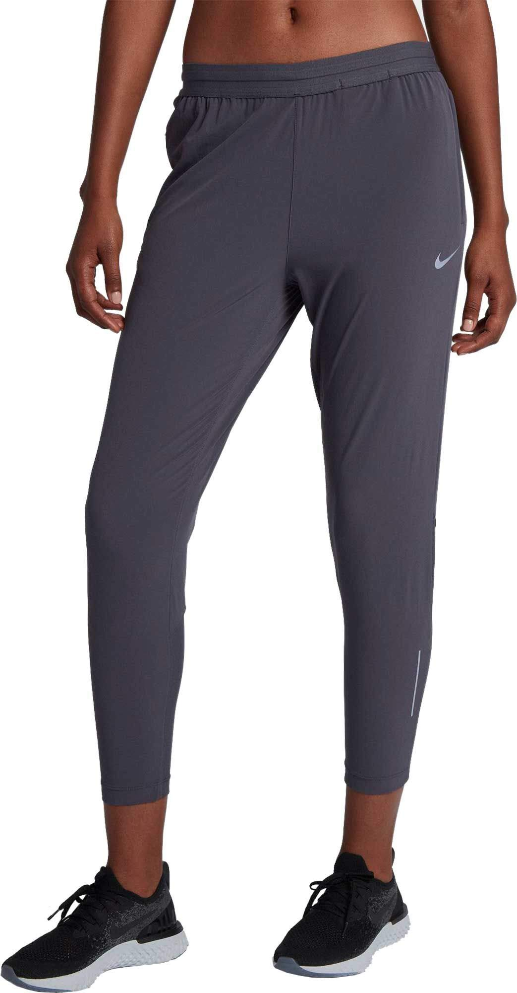 NIKE Women's Essential 7/8 Running Pants (Gridiron, X-Small)