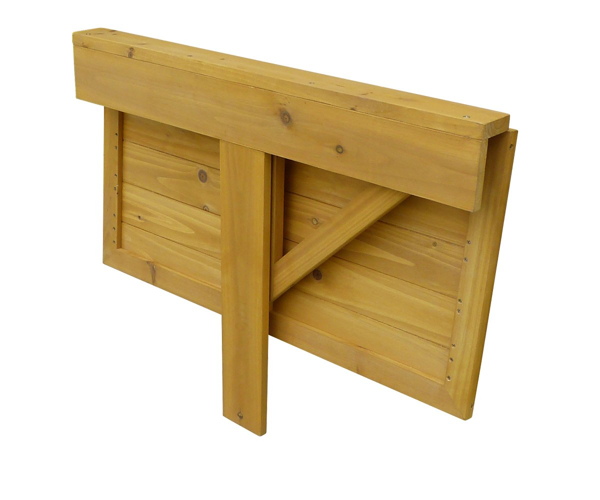 Charmant Amazon.com : Leisure Season DL6322 Wall Mounted Drop Leaf Table : Garden U0026  Outdoor