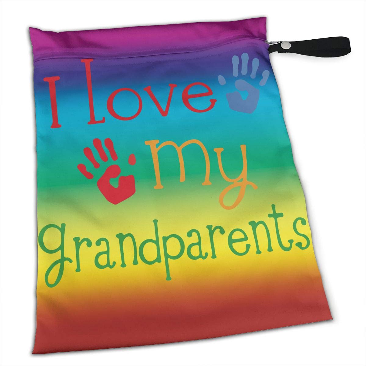 Amazon.com  Hlinksy Love My Grandparents Reusable Waterproof Baby Diaper  Wet Bags with Zipper - Multipurpose Bag for Swimsuit Or Wet Clothes  Home    Kitchen 9843924ea