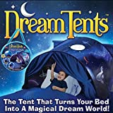 Kids Play Tent Childs Bed Tent Playhouse for Boys Girls Fun Plays Christmas & Birthday Gifts (Space Adventure)