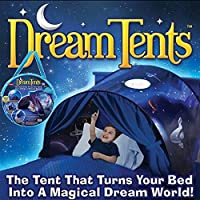 Lovne Kids Play Tent Childs Bed Tent Playhouse for Boys Girls Fun Plays Christmas & Birthday Gifts (Space Adventure)