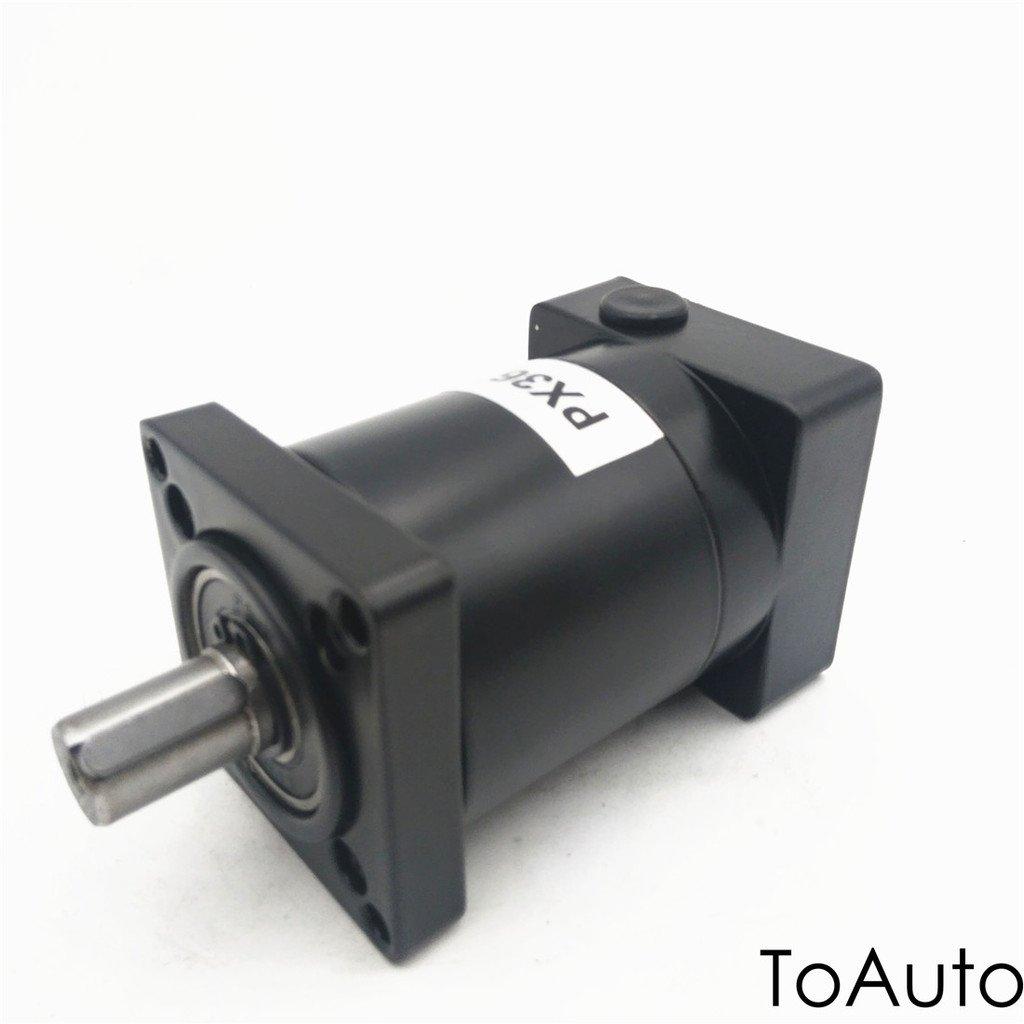 Planetary Gearbox Reducer Stepper Motor Speed Reducer High Precision for Nema23 Stepper Motor Ratio 10:1 PF 57PX