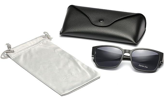 Amazon.com: CAXMAN - Gafas de sol para niños, tamaño juvenil ...