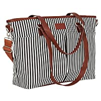 Diaper Bag by Hip Cub - Designer Messenger - W/ Stylish Stripe Baby Changing ...