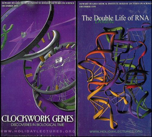 Howard Hughes Medical Institute Lecture Science Series: The Double Life of RNA, Clockwork Genes, Scanning Life's Matrix, Of Hearts and Hypertension [8 VHS Videos]
