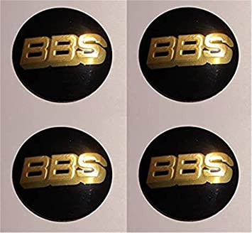 fanlinxin BBS Emblems - Juego de 4 tapacubos de 56 mm con el Logotipo de la Capucha del Coche: Amazon.es: Coche y moto