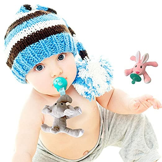 Amazon.com : YaptheS Baby Pacifier Toy Pacifier Hanging Pacifier ...