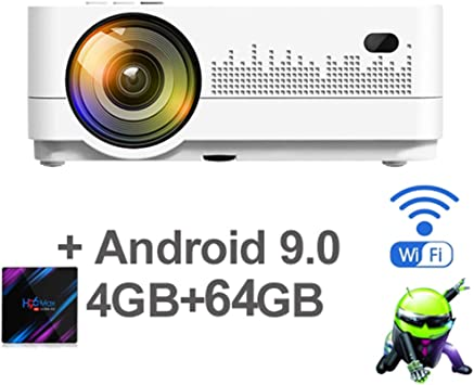WHLDCD Proyector HD 720P 150 Pulgadas Mini portátil 3D LCD ...