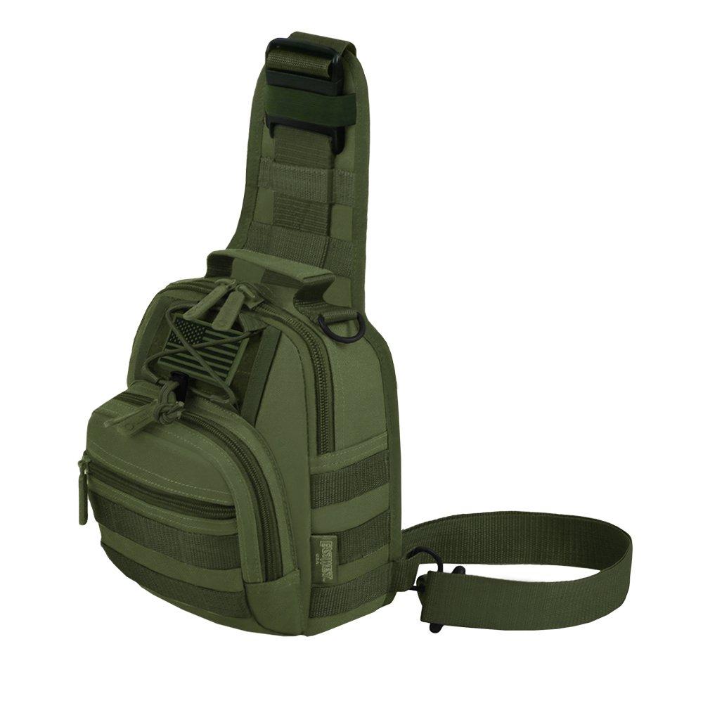 East West U.S.A RT517 Tactical Sling Chest Utility Shoulder Bag