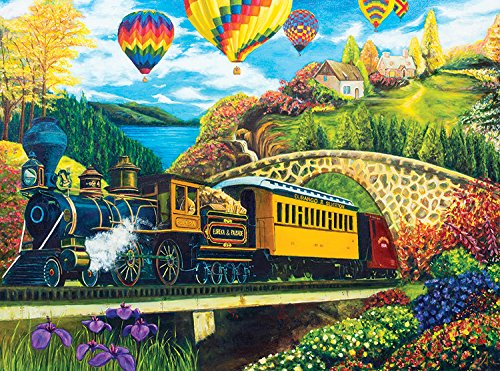 Puzzle Collector Art 1000 Piece Puzzle - County Express By Argus Fong