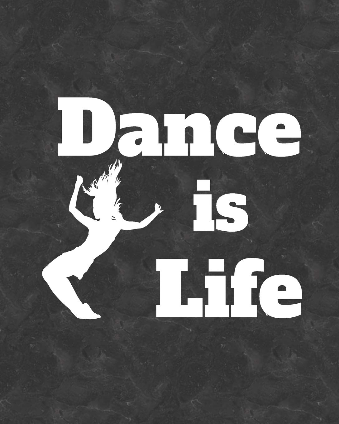 Dance Is Life: 2019 Daily Planner for Jazz Dancers and Dance