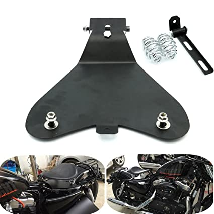 Amazon com: For Harley Sportster to Bobber Style Solo Seat