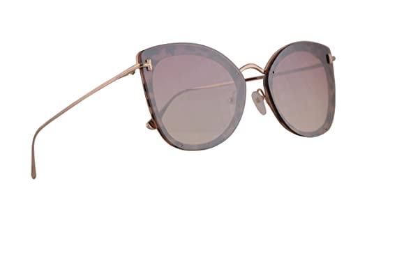 fd07577be03 Amazon.com  Tom Ford FT0657 Charlotte Sunglasses Pink Havana w Pink ...