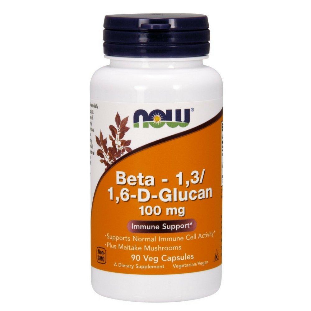 NOW Beta 1,3/1,6- D -Glucan 100 mg,90 Veg Capsules