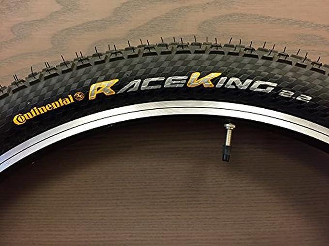 Continental Reifen Conti Race King Pro Tec faltbar Skin Cubierta, Unisex, Negro, 29 x 2,2