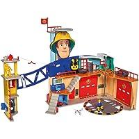 SIMBA 109251059038 Brandweerman Sam Brandweerkazerne XXL, meerkleurig