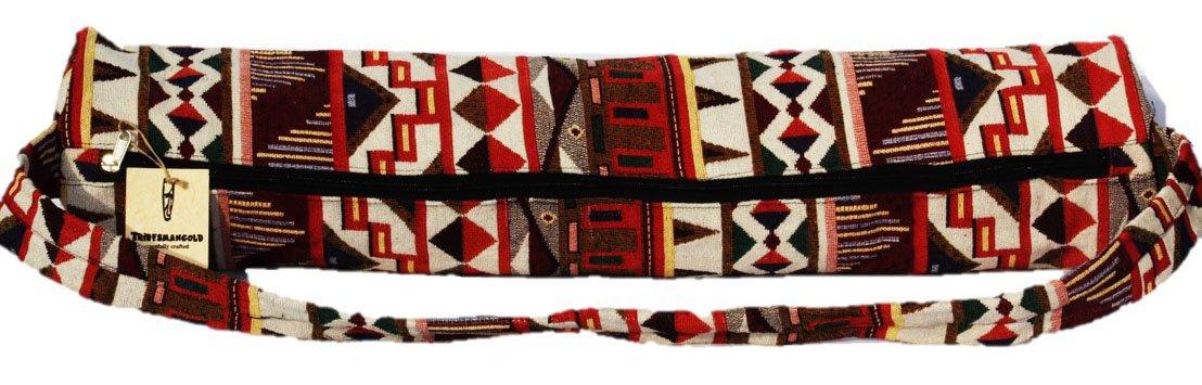 Amazon.com : TRIBESMANGOLD Indian Stylish Yoga Mat Cotton ...